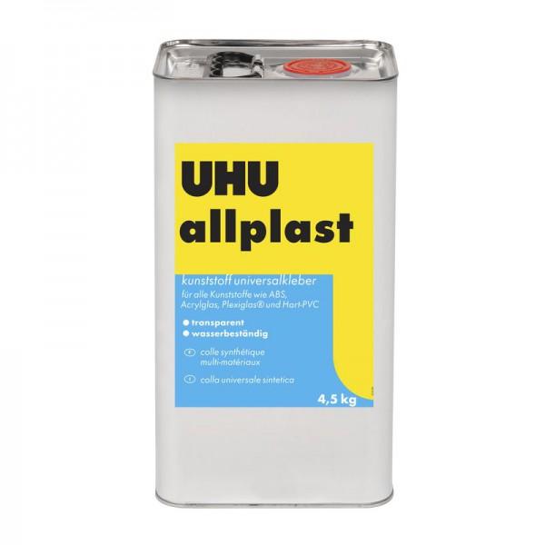 UHU ALLPLAST - Kunststoffe universal - mittelviskos, Kanne 4,5kg