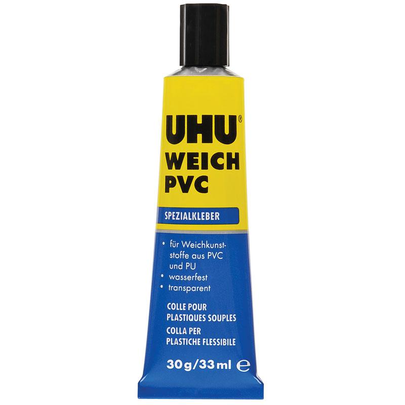 Uhu Weich Pvc Tube 30g Spezialklebstoffe Klebstoffe Uhu