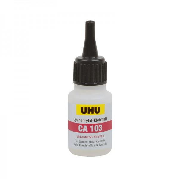 UHU CA 103 - dünnflüssig / universal, Flasche 20g