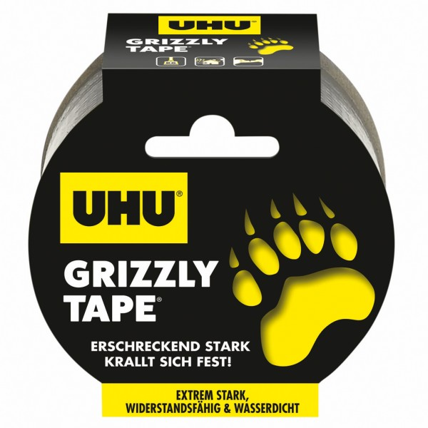 UHU GRIZZLY TAPE, Rolle 49mm x 10m