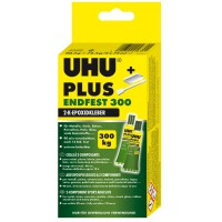 UHU PLUS ENDFEST 300, Tube Binder, Tube Härter 163g