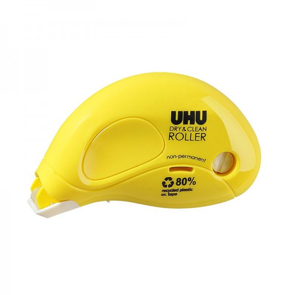 UHU DRY&CLEAN ROLLER Kleberoller non-permanent
