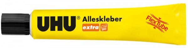 UHU extra ALLESKLEBER FLEX + CLEAN, Kunststofftube 18g