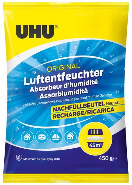 UHU Air Max Luftentfeuchter Nachfüllbeutel 450g