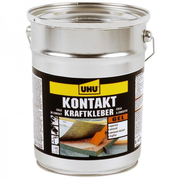 UHU KONTAKT KRAFTKLEBER gelförmig, Kanne 4,25kg